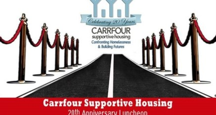Carrfour Supportive Housing's 20th Anniversary Luncheon