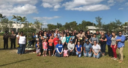 Verde Gardens Team Hosts Walk for Peace